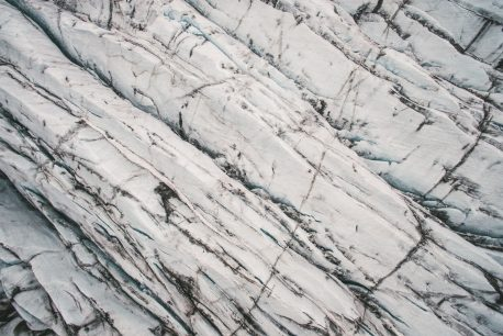 aerial photographs svinafellsjokull glacier road trip south iceland
